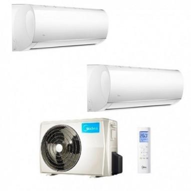 Climatizzatore Midea Dual Split Right 9000+12000 M20G-14HFN8-Q R-32 9+12