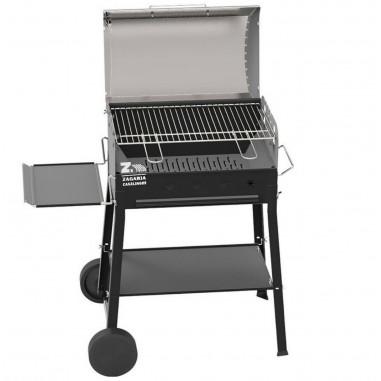 Ferraboli Barbecue a Carbonella mod. New Garda a carbonella con ruote e coperchio