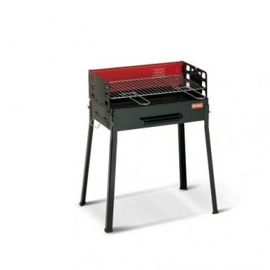 Ferraboli Barbecue Famiglia Carbonella Rettangolare Griglia 50x30