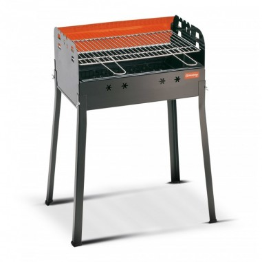 Ferraboli Barbecue Ledro Carbonella Rettangolare Griglia 58x37